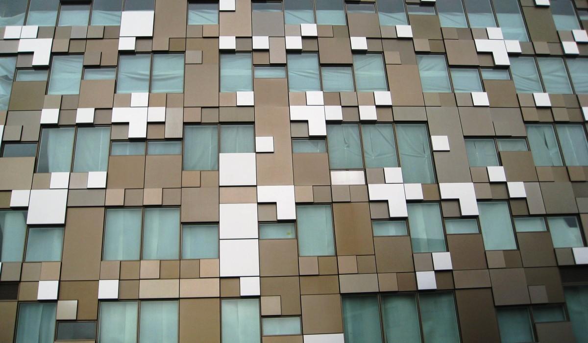 The Cube facade