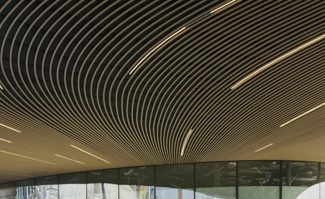 Greenwich Hub roof