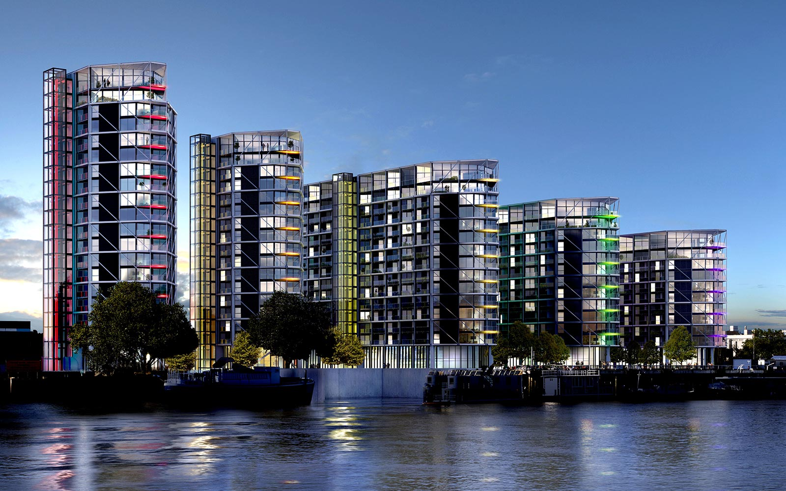 Riverlight london wintech wintech dedicated fa ade for Design consultancy london
